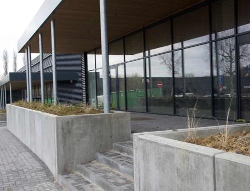 Bac à fleurs à Mechelen